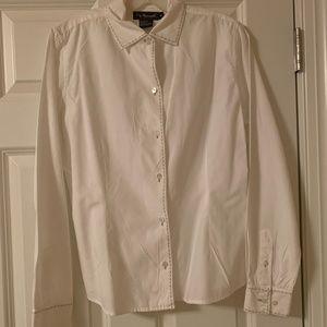 Faconnable white blouse